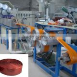 PVC hose pipe machine/PVC garden line products/pvc fibre reinforced hose production line