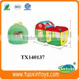 kids play folding house playing beach tent