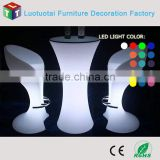 2015 New design modern 42'' high-grade led bar stool high back wing chair LED light stool chair LTT-BS04