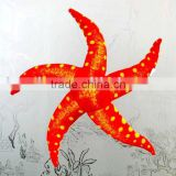 plush stuffed starfish windows decoration/ plush sea animal toy