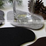 hot new product for 2017 wholesale china supplier on alibaba website bulk custom cheap felt beer drink coaster