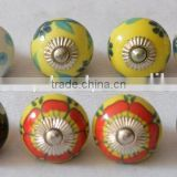Beautiful Mix Design Hand Painted Cabinet Ceramic Knobs