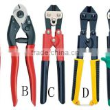 high qualityhand Crimping pliers, wire cutters, pipe clamp, cable cutter, cut wire rope sicisors cutting tool