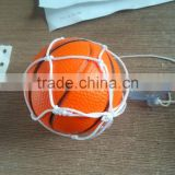 2015 various basket ball car air freshener with net and cupula
