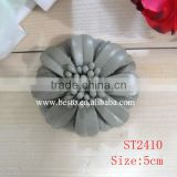 5CM Italy style new custome cheap wholesale leather flower for shoes decoration