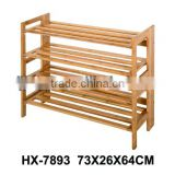 China 2015 Hot sell bamboo waterproof shoe rack, cheap shoe rack with New Design