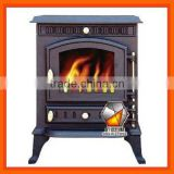 Export Cast Iron wood burning stove, STC&CST series Fireplace Stove