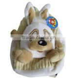 Plush animal backpack for kids cheap cute toddler animal backpacks kids zoo animal backpack