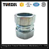 Zinc plated EMT Coupling with compression type