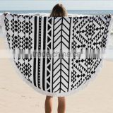 150CM Round Beach Towel With Tassels