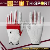 White Cabretta Leather Mens Grip Soft Golf Glove