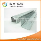 2016high quality silver color office galvanized standard staples