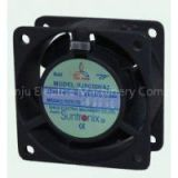 60mm Square Frame Aluminum 110V, 220V or 380V AC Axial Fans, 5 blade Exhaust Fan 2400 / 3000 RPM