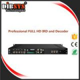 Professional FULL HD IRD and  Decoder