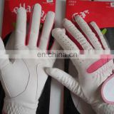 high quality cabretta golf gloves for women