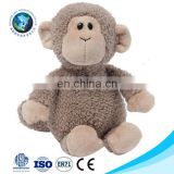 Top quality educational kids toy Custom cute stuffed animal soft toy plush monkey hand puppet