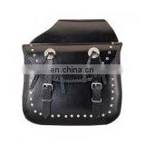 Motorcycle Leather Saddle Bags HMB-4011A