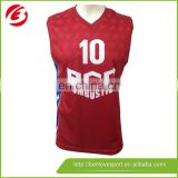 100% Polyester Sublimation Basketball Jersey/Sportswear