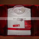 korean fabric daffah box packing embroider muslim arab thobe thawb robe