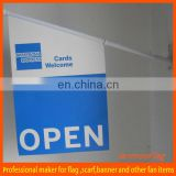 PVC outdoor promotion wall flag