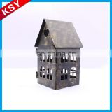Brilliant Quality China Alibaba Decorative Antique Metal Candle Lantern Holder Set