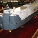 car carrier ship model, made to order, custom-made,made by Focod Model