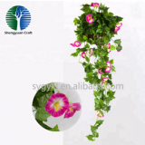 china supplier the newest artificial morning glory flower vine for decoration