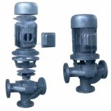 GW Vertical pipeline sewage pump for wastewater