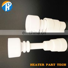 Ceramic Alumina Smoking Nail Dome Part with Male Female Joint for Smoking