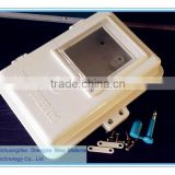 FRP meter box/Electric meter protection case/ fiberglass electricity larceny prevention box