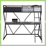 X-Loft Metal Bunk Bed With Computer Desk Loft Bed With Desk
