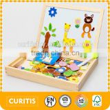 blackboard whiteboard educational game wood baby child toy kids wood easel table top easels wholesale small easels easel parts