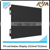 4mm indoor smd full color fixed advertising LED display screen P4                                                                         Quality Choice