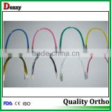 white / blue orthodontic colorful dental arch wire
