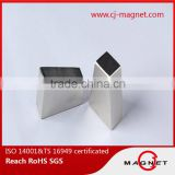 chamfering neodymium magnets for magnetic motor, professional manufacturer Shanghai, China