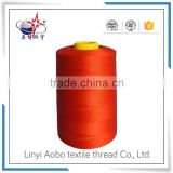 cheap sewing thread for industrial use / 40/2 polyester sewing thread with competitive price / virgin polyester thread