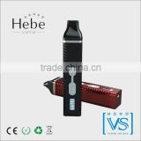 China factory supply Latest Portable titan 2 herbal vaporizer, hebe vapor with high quality