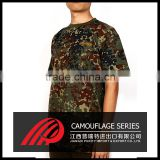 Wholesale Short Sleeve camouflage t - shirt , OEM Service short sleeve military t shirts