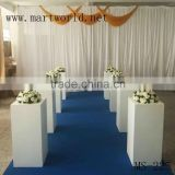 wholesale pure white glass fiber vase for wedding decoration wedding materials party decorations(MS-225)