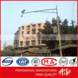 Anti-corrosive Hot Dip Galvanized and Powder Coated Traffic Light Pole with CCTV Camera