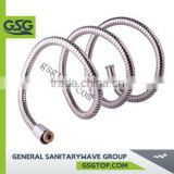 CN-012 Double-lock shower hoses in stainless steel, with available lengths 1500mm, 1750mm and 2000mm.                                                                                                         Supplier's Choice