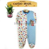 autumn&winter fashion soft long sleeve boy baby romper clothes