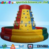 small inflatable Kids Rock Climbing Wall for sale