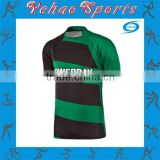 high quality new design sublimation blank rugby jerseys