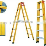 Fiberglass plastic building material-high strength fiber glass ladders, working platform