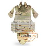 Ballistic Vest with Concealable Hydration Pocket of 1000D nylon Meets USA standard.