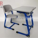 modern school sets special use and school furniture type single school desk and chair , standard size of school desk and chair