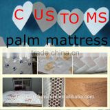 8cm height metal bed palm mattress