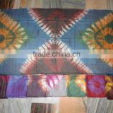 tie dye printed scarves pareo sarongs butterfly prints