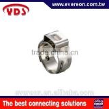 Stainless single pipe clamp type small clamps ear hose clamp